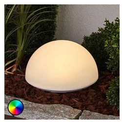 Ładna lampa solarna LED RGB LOUNIS