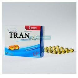 Tran z witaminami A+D+E 60 kapsułek COLFARM