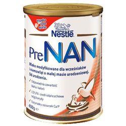 NESTLE PRE NAN 400g Mleko modyfikowane dla wcześniaków i niemowląt o m