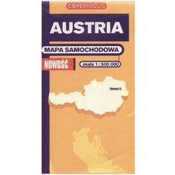 Austria. Mapa samochodowa