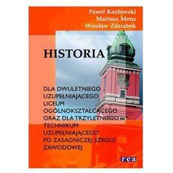 Historia, klasa 1-3, podręcznik dla liceum i technikum, Rea
