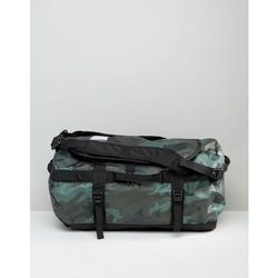 The North Face Base Camp Duffel Bag In Small Camo - Green