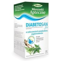 Zioł.fix Diabetosan miesz. 20 sasz.a 2 g
