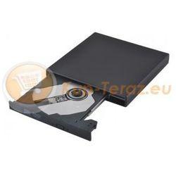 Napęd zewnętrzny optyczny przenośny + nagrywarka DVD CD USB Slim