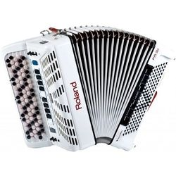 Roland FR 3X B WH - cyfrowy akordeon guzikowy