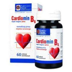 Cardiomin B6 - wapń+magnez+potas kapsułki Cardiomin B6 (30szt.)