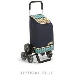 Torba na zakupy z kółkami Tris Optical niebieska,
