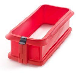 Lekue - Forma prostokątna (keksówka) DUO - czerwona