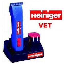 Heiniger Saphir Vet - profesjonalna, bezprzewodowa maszynka dla lekarzy weterynarii z ostrzem nr 40 i dwoma akumulatorami