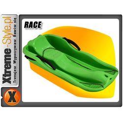 Sanki dla dziecka M-Wear Race z hamulcem zielone