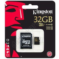 Kingston micro SDHC SDCA10/32GB 32GB Class 10 U1 UHS-I + adapter SD