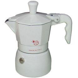 Kawiarka Top Moka Coccinella biała - 1 filiżanka
