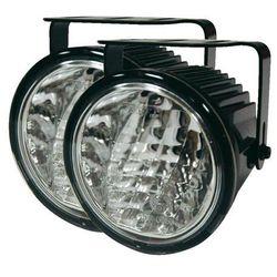Zestaw lamp samochodowych do jazdy dziennej LED, światło pozycyjne, 1 dioda LED, 12/24 V