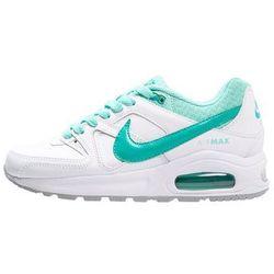Nike Sportswear AIR MAX COMMAND Tenisówki i Trampki white/clear jade/hyper turquoise