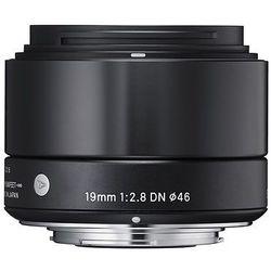 Sigma 19mm f/2.8 A DN (Olympus) (czarny)