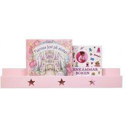 Półka ścienna KIDS CONCEPT 122189 Gwiazdki Różowy + DARMOWY TRANSPORT!