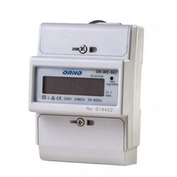 1-fazowy wskaźnik zużycia energii elektrycznej, 80A ORNO