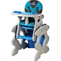 Krzesło do karmienia CARETERO ze stoliczkiem Primus niebieski