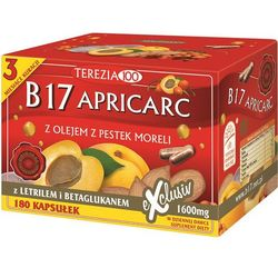 Witamina B17 Apricarc 180 kapsułek
