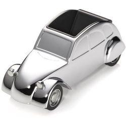 Chromowany przybornik na biurko samochód Citroën 2CV marki Troika - Stalowy