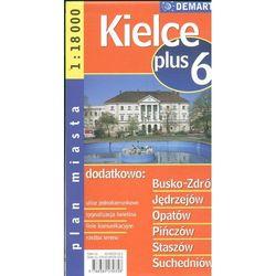 Kielce + 6. Plan miasta 1:18 000 (opr. broszurowa)