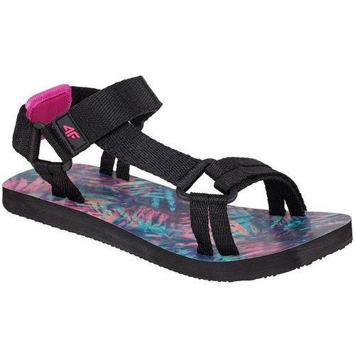 6786c730b Damskie sandały sportowe SAD001 4F - Czarny - porównaj zanim kupisz