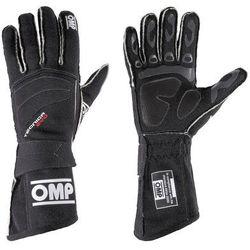 Rękawice rajdowe OMP TECNICA EVO czarne (homologacja FIA)