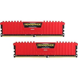 CORSAIR DDR4 Vengeance LPX 16GB/3000(2*8GB) CL15-17-17-35 RED