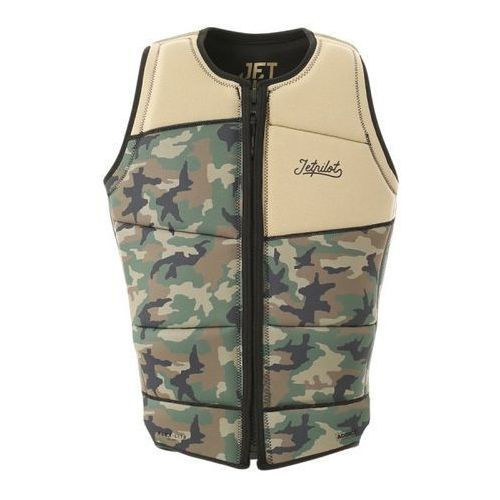 Kamizelka Jetpilot Addict Reversible (camo/black) 2019