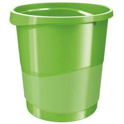 Kosz na śmieci Esselte Vivida 14l 623950 zielony
