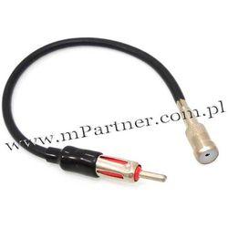 Redukcja przejściówka antenowa na kablu prosta
