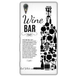 Fantastic Case - Sony Xperia T3 - etui na telefon - wine bar