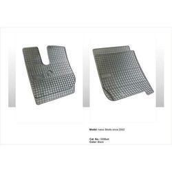 Dywaniki gumowe czarne z kompletem stoperów - Iveco Stralis - wąska kabina