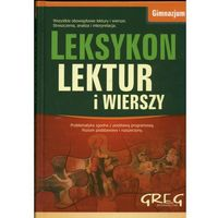 Leksykon lektur i wierszy Gimnazjum (opr. twarda)