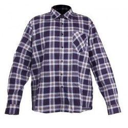 LAHTI PRO Koszula flanelowa w kratę granatowa rozmiary S-XXL (ZNALAZŁEŚ TANIEJ - NEGOCJUJ CENĘ !!!)
