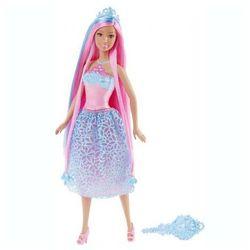 BARBIE Długowłosa księżniczka blue