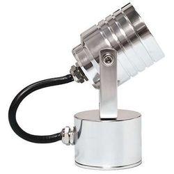 Zewnętrzna LAMPA ścienna GZ/ELITE3 CLEAR Elstead reflektorowa OPRAWA sufitowa PLAFON LED 3W IP54 outdoor aluminium