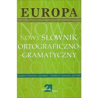 (e) Nowy słownik ortograficzno-gramatyczny