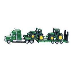 Zabawka SIKU Ciężarówka z naczepą dwa traktory