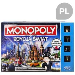 Hasbro Monopoly Here and Now Tu i teraz Edycja Świat