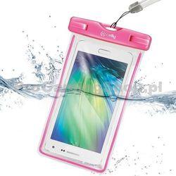 Etui wodoszczelne Celly do HTC Desire 516, różowy