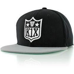 czapka z daszkiem K1X - Play Harder black/grey (0800)