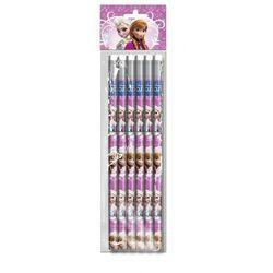 Zestaw 6 ołówków Kraina Lodu
