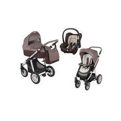 Wózek wielofunkcyjny 3w1 Lupo Dotty Baby Design + Citi GRATIS (brązowy)