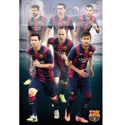 FC Barcelona Gwiazdy Klubu 2014/2015 - plakat