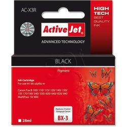 Tusz ActiveJet AC-X3R Czarny do drukarki Canon - zamiennik Canon BX3
