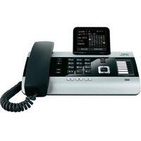Telefon ISDN Gigaset DX600A, przewodowy, sekretarka, 500 wpisów, funkcja SMS, Bluetooth