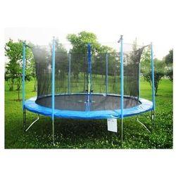 PLATINIUM 183 cm - Zestaw trampoliny z siatką zabezpieczającą - Niebieski
