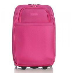 Elegancka walizka podróżna Różowa