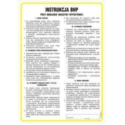 Instrukcja BHP przy obsłudze maszyny offsetowej